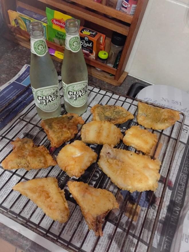 Cluver&Jack and freshly fried belman!